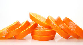 Ripe oranges for a healthy feed Royalty Free Stock Image