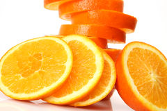 Ripe oranges for a healthy feed Stock Photography
