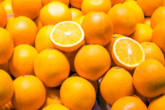 Ripe oranges for sale Royalty Free Stock Photography