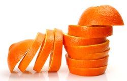 Ripe oranges Stock Images