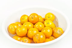 Ripe oranges Stock Photos
