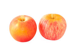 Ripe organic apples Stock Image