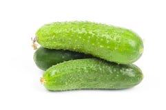 Ripe organic cucumber Stock Photo