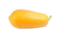 Ripe papaya. Isolated on white Stock Photo