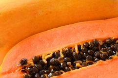 Ripe papaya. Royalty Free Stock Photo