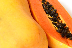 Ripe papaya. Royalty Free Stock Image
