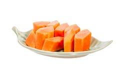 Ripe papaya Stock Images