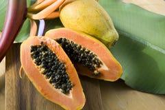 Ripe papaya Stock Photo