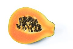 Ripe papaya fruit Royalty Free Stock Photography