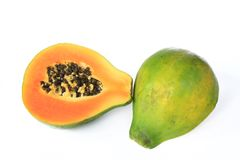 Ripe papaya fruit Royalty Free Stock Images