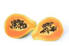 Ripe papaya fruit Royalty Free Stock Image