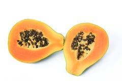 Ripe papaya fruit Stock Images