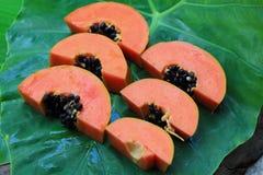 Ripe papaya Stock Image