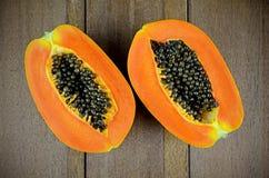Ripe papaya. Stock Photography