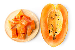 Ripe papaya Royalty Free Stock Photography