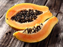 Ripe papaya Stock Photography
