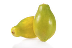 Ripe papayas Royalty Free Stock Images
