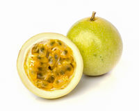 Ripe passion fruit Stock Photo