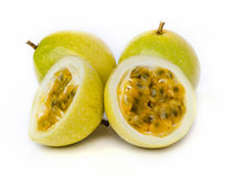 Ripe passion fruit Royalty Free Stock Photo