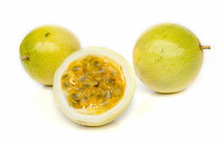 Ripe passion fruit Stock Image