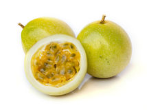 Ripe passion fruit Royalty Free Stock Images