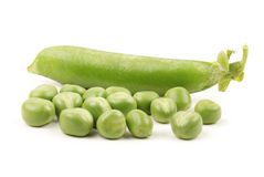Ripe pea Royalty Free Stock Images