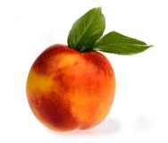 Ripe peach Royalty Free Stock Photos