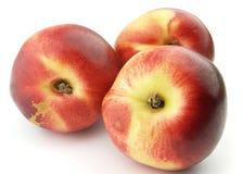 Ripe peach Stock Images