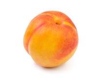 Ripe peach fruit Stock Photos