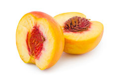 Ripe peach fruit Royalty Free Stock Photos