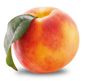 Ripe peach Stock Image
