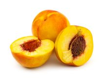 Ripe peach fruits Royalty Free Stock Image