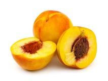 Ripe peach fruits Royalty Free Stock Image