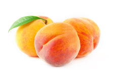 Ripe peach fruits. Royalty Free Stock Photos
