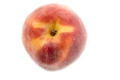 Ripe peach macro Stock Image