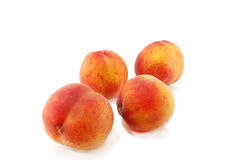 Ripe peaches Stock Photo