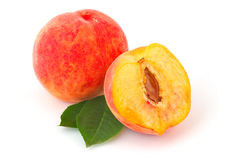 Ripe peaches Royalty Free Stock Photography