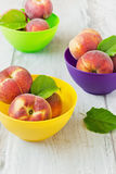 Ripe peaches Royalty Free Stock Images