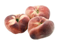 Ripe peaches fig. Royalty Free Stock Photography