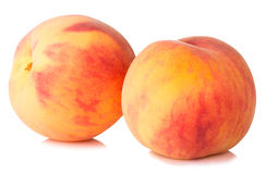 Ripe peaches fruit Stock Photography