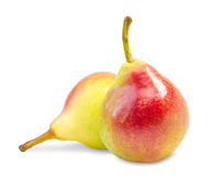 Ripe pear fruit Stock Photo
