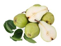Ripe pear Royalty Free Stock Photos
