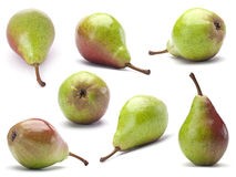 Ripe pear set Stock Image