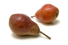 Ripe pears Stock Images