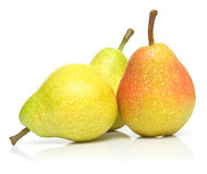Ripe pears Stock Photos