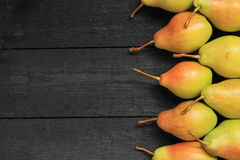 Ripe pears background Royalty Free Stock Photo
