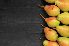 Ripe pears background Royalty Free Stock Image