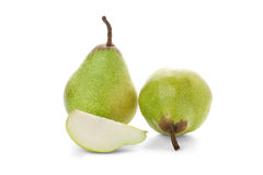 Ripe pears isolated Royalty Free Stock Image