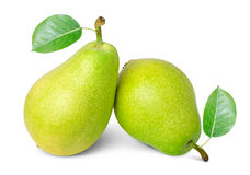 Ripe pears Stock Photo