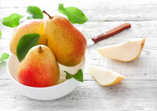Ripe pears Royalty Free Stock Photos